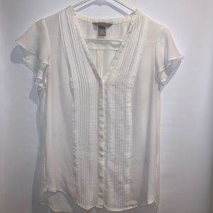 White Work Top from H&M